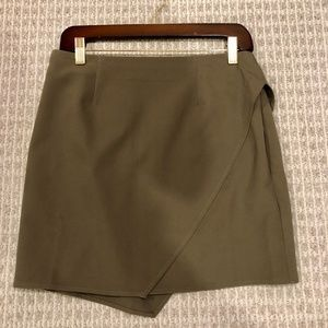 Tobi Madeline Mini Wrap Skirt